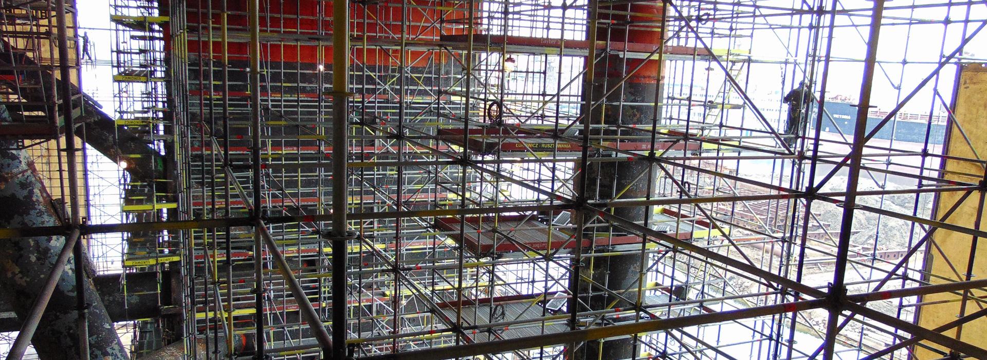 Lease scaffolding
